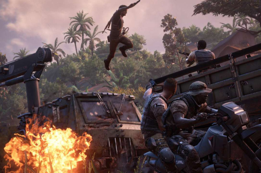 uncharted 4 action lies