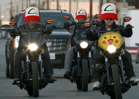 Pokemon biker gang