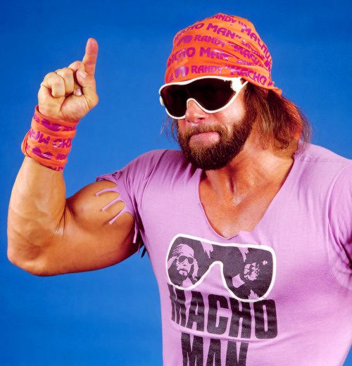 Macho Man pink
