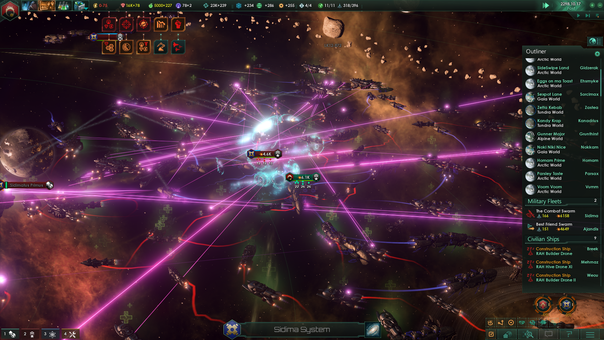 Stellaris Space Fight